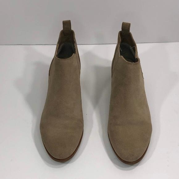 Michael Kors Shoes - Michael Kors  6M Tan Chealse Shaw Suede Ankle Boot